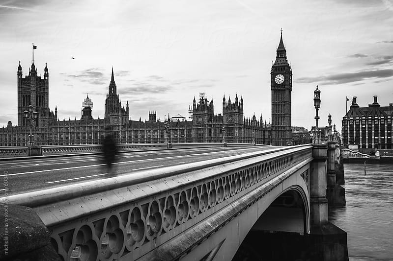 London Westminster Bridge  by michela ravasio for Stocksy United