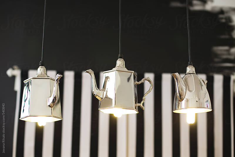 Beautiful lights in pastry shop by Jovana Rikalo for Stocksy United
