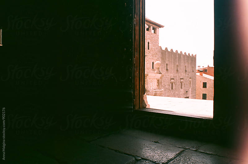 A film photo of view from church in Girona by Anna Malgina for Stocksy United