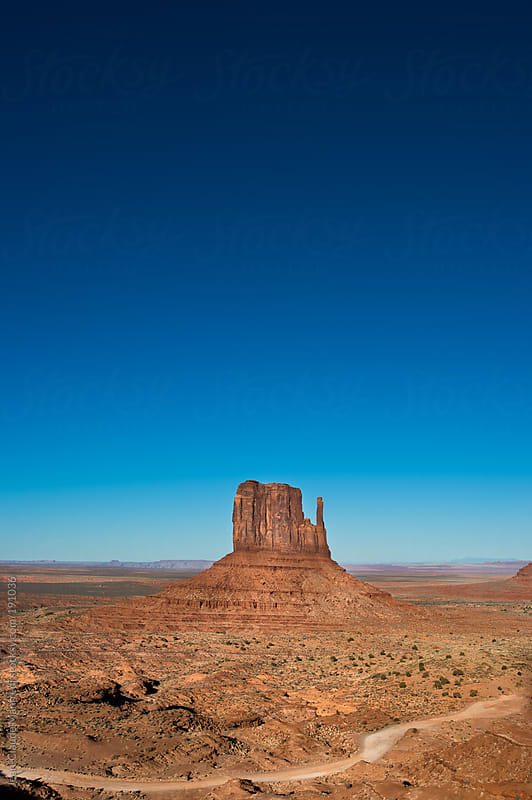 Monument Valley landscape, Navajo Tribal Park, Arizona usa by Jean-Claude Manfredi for Stocksy United