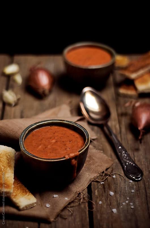 lentil soup by Canan Czemmel for Stocksy United
