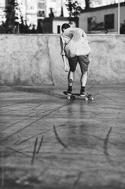 skating in Burgas by MEM Studio for Stocksy United