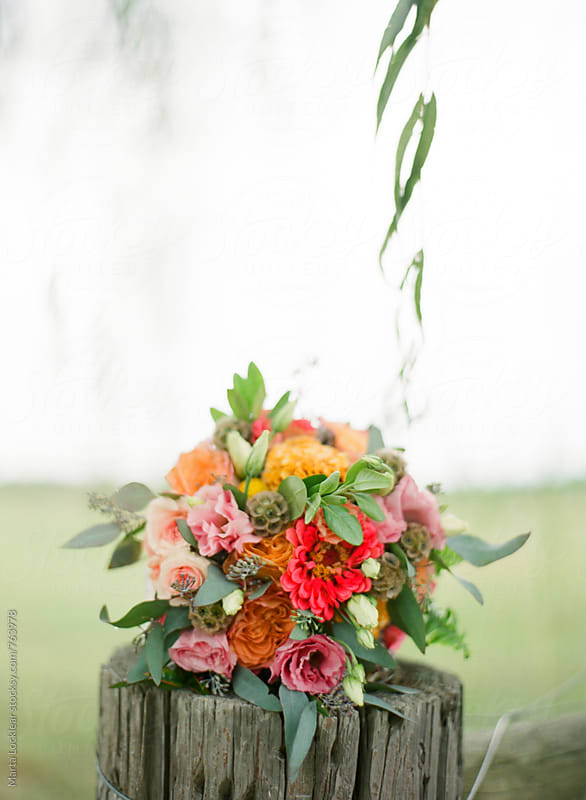 Wedding bouquet by Marta Locklear for Stocksy United
