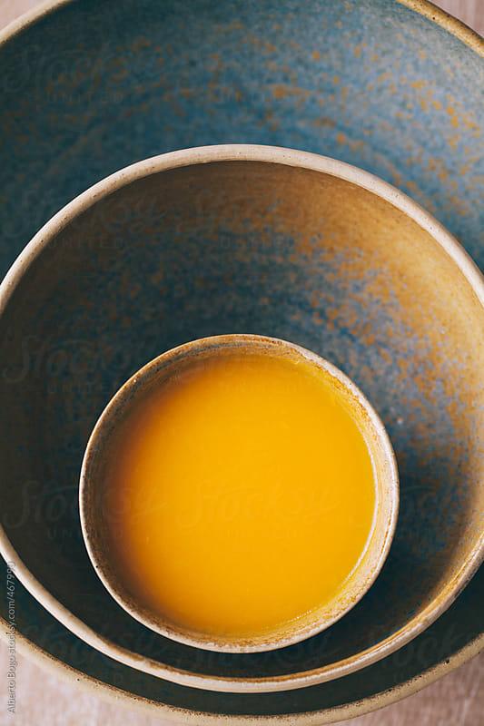 Pumpkin soup. by Alberto Bogo for Stocksy United