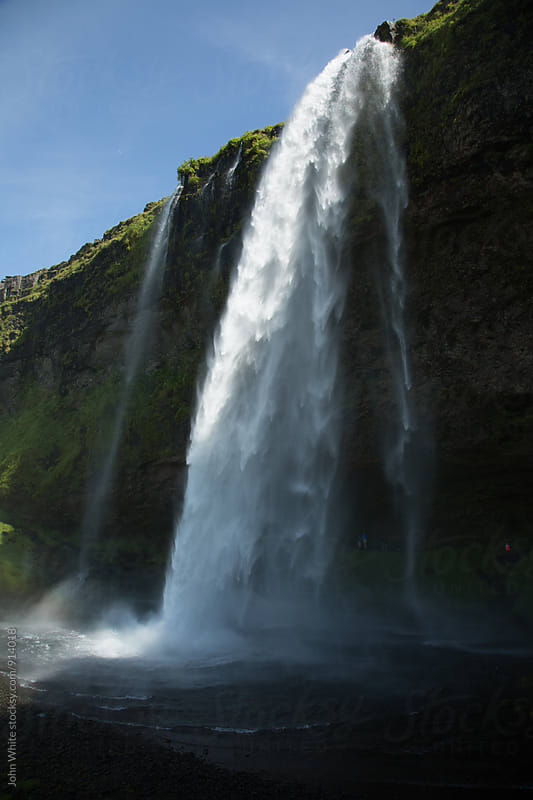 Seljalandsfoss Waterfall. Iceland. by John White for Stocksy United