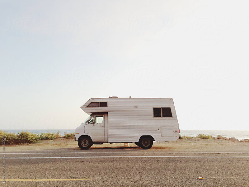 California Coast RV Camping by Kevin Russ for Stocksy United