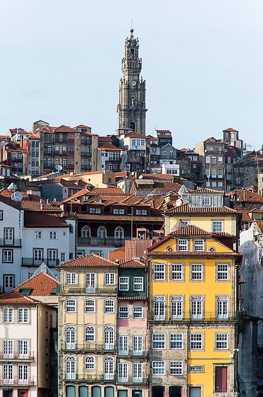 Views of the old town of Oporto, Portugal by Bisual Studio for Stocksy United