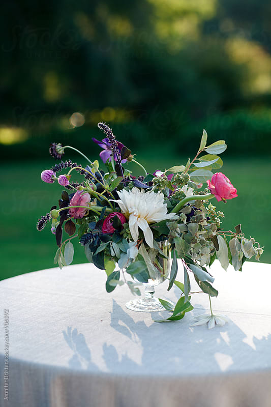Beautiful floral arrangement  by Jennifer Brister for Stocksy United