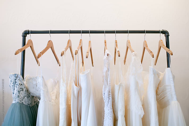 Rack of dresses by Jennifer Brister for Stocksy United
