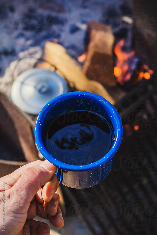 Camp Coffee by Sean Horton for Stocksy United
