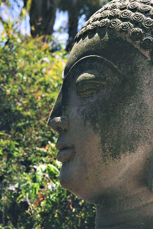 Buddha Head by Kurt Heim for Stocksy United