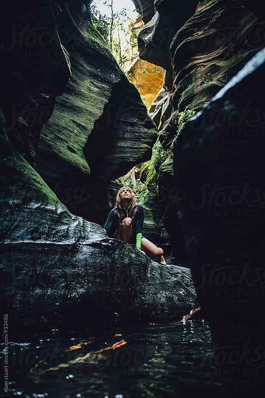 Exploring Canyons, Australia. by dom stuart for Stocksy United