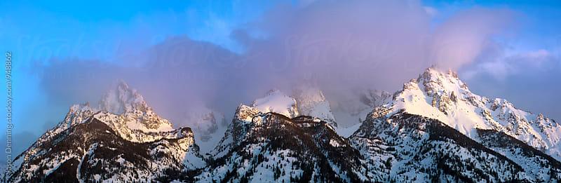 Teton Rise by Jason Denning for Stocksy United