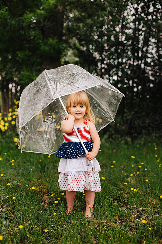 My Umbrella by Jessica Byrum for Stocksy United