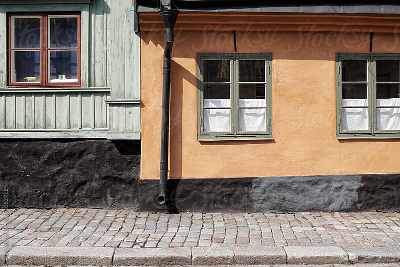 Old houses in Stockholm by Marcel for Stocksy United