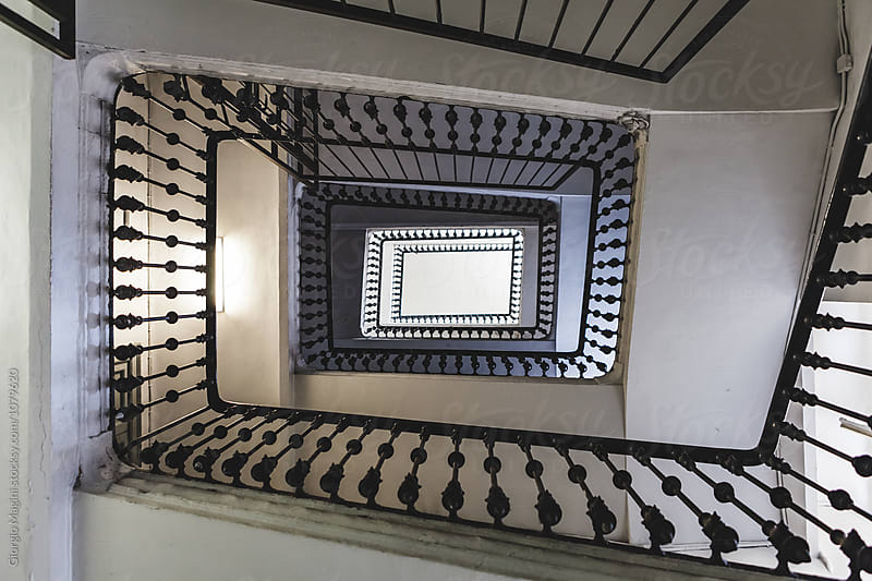 Stairwell in Old Italian Building by Giorgio Magini for Stocksy United