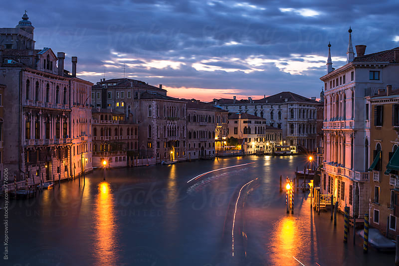 The Grandest of Canals by Brian Koprowski for Stocksy United