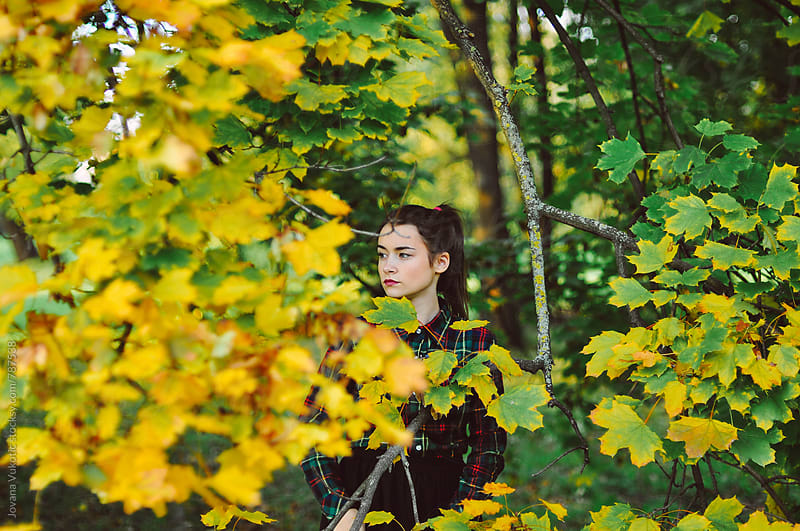 Autumn portrait by Jovana Vukotic for Stocksy United