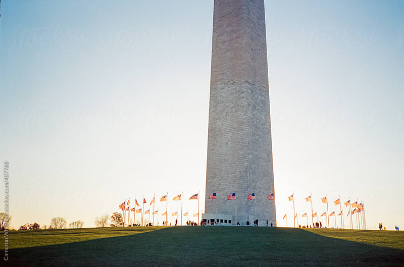 The Washington Monument by Cameron Whitman for Stocksy United