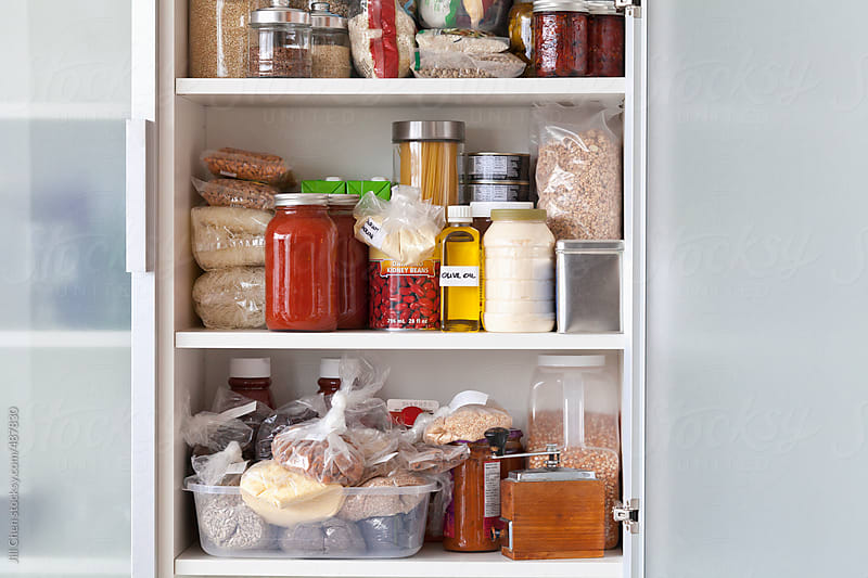 Stocked Kitchen Pantry by Jill Chen for Stocksy United