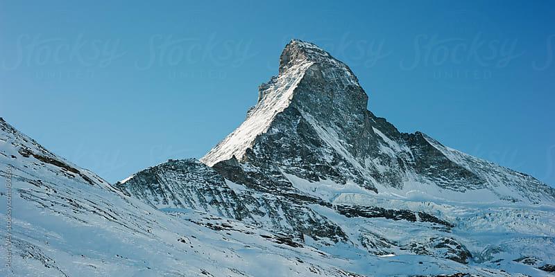 Matterhorn in Winter by Peter Wey for Stocksy United
