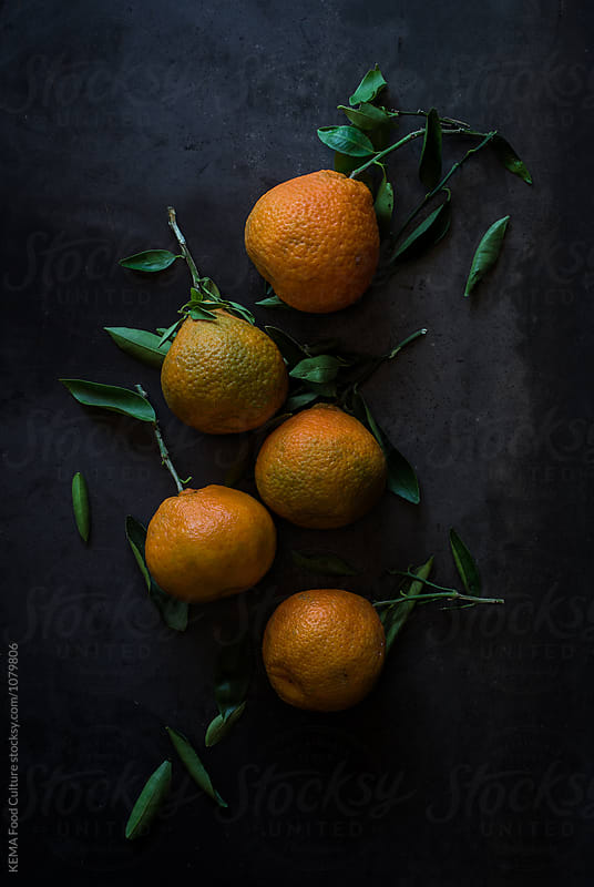 Mandarins by KEMA Food Culture for Stocksy United