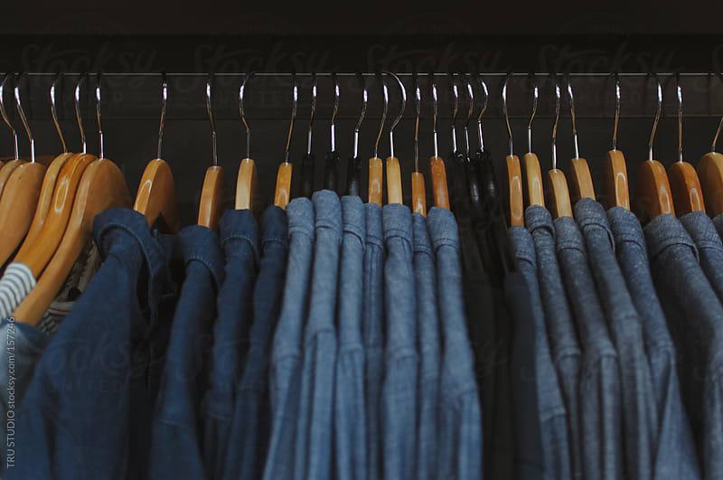Hanging Shirts by TRU STUDIO for Stocksy United
