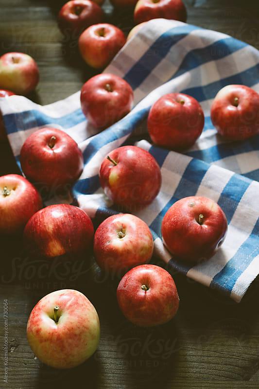 fresh apples by Alexey Kuzma for Stocksy United