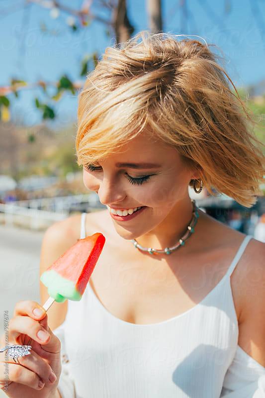 Summer Refreshment by Marija Savic for Stocksy United
