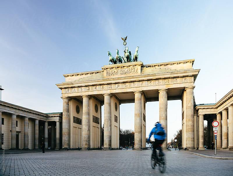 Brandenburg Gate by Agencia for Stocksy United