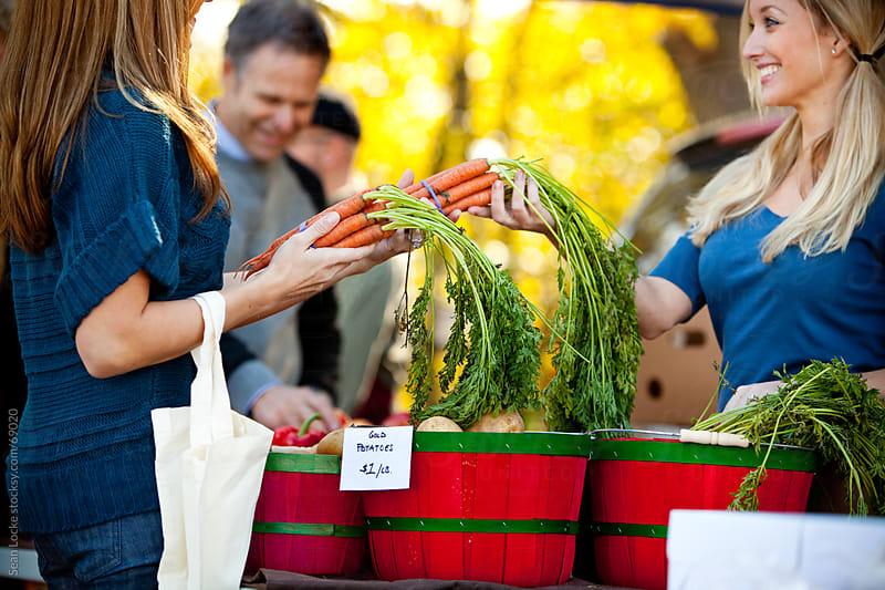 Farmer's Market: Focus on Carrots by Sean Locke for Stocksy United