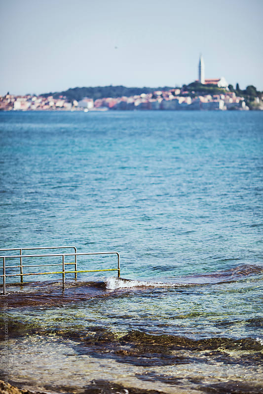 Beautiful cityscape in Rovinj by Maja Topcagic for Stocksy United