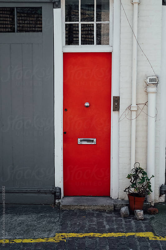 Red Door by Katarina Radovic for Stocksy United