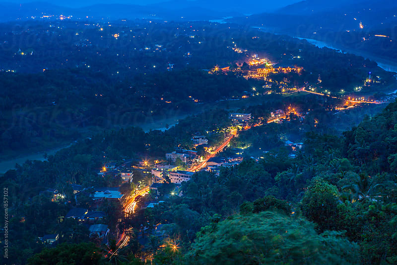 Twilight in Kandy, Sri Lanka by Jino Lee for Stocksy United