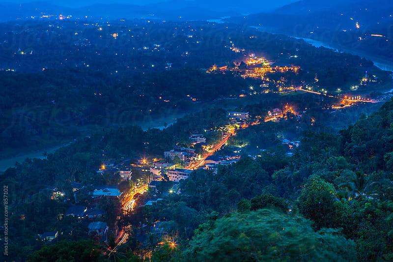 Twilight in Kandy, Sri Lanka by Jino Lee for Stocksy United