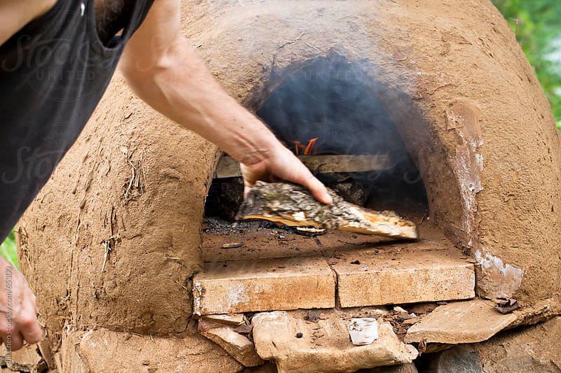 Wood-Burning Earth Oven by Jill Chen for Stocksy United