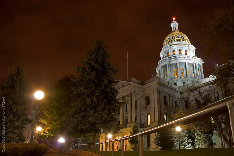 Denver Capitol Building by Casey McCallister for Stocksy United