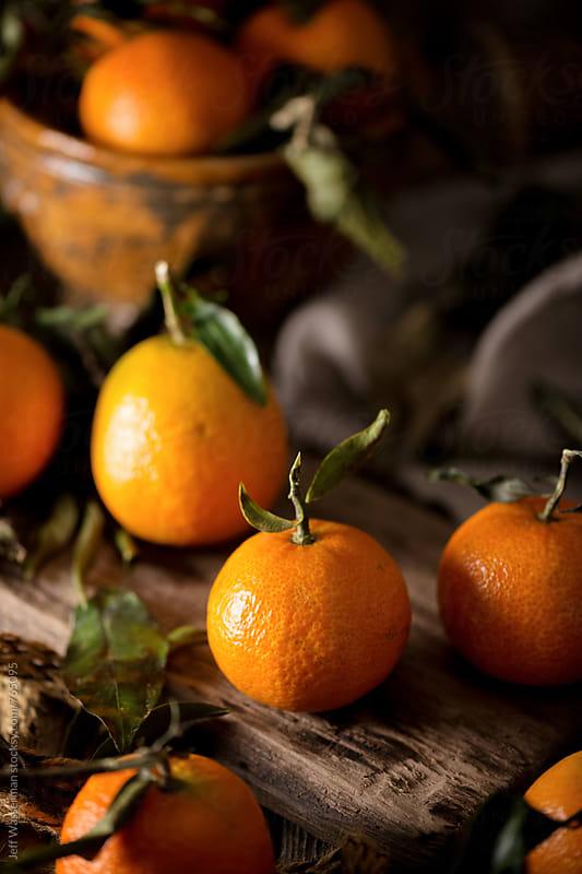 Mandarin Oranges Still Life by Jeff Wasserman for Stocksy United