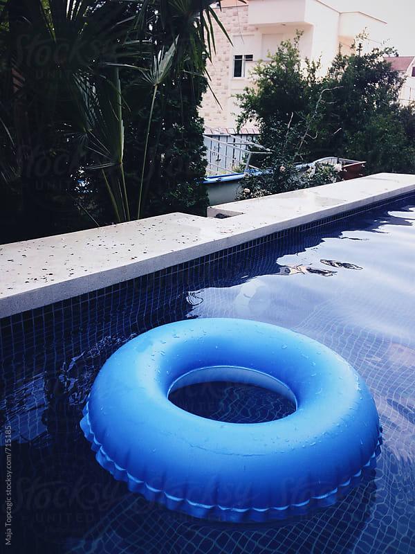 Pool in summer by Maja Topcagic for Stocksy United