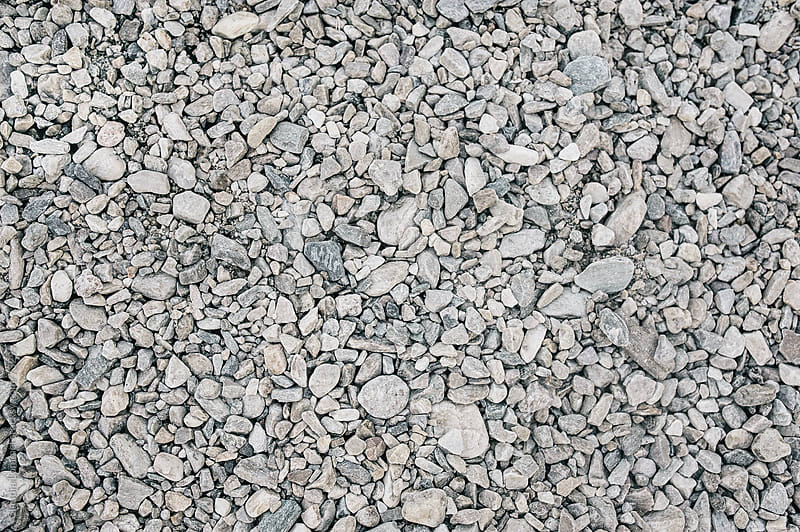 Pebble Stone Background by Claudia Lommel for Stocksy United