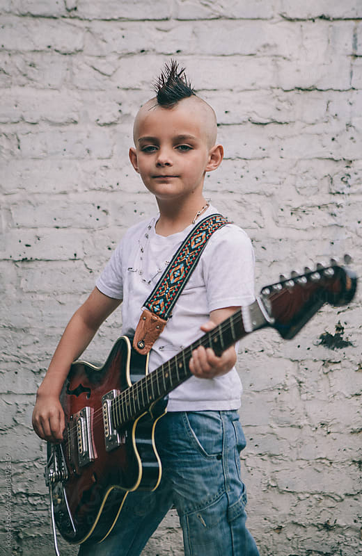 Portrait of a young Punk by kkgas for Stocksy United