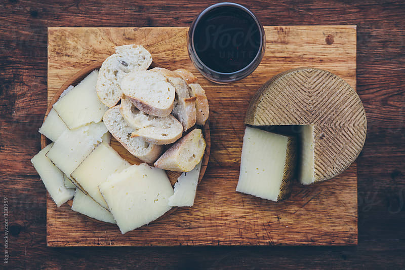Queso Manchego, Manchego Cheese by kkgas for Stocksy United