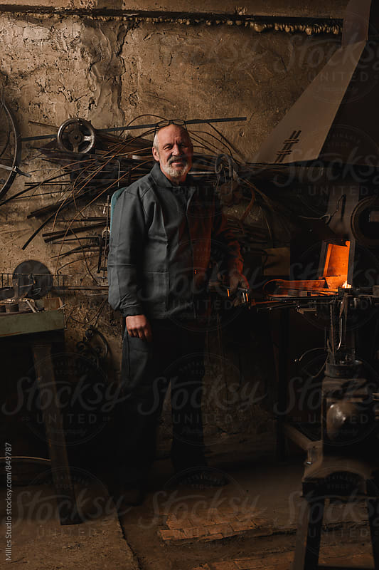 Blacksmith by Milles Studio for Stocksy United
