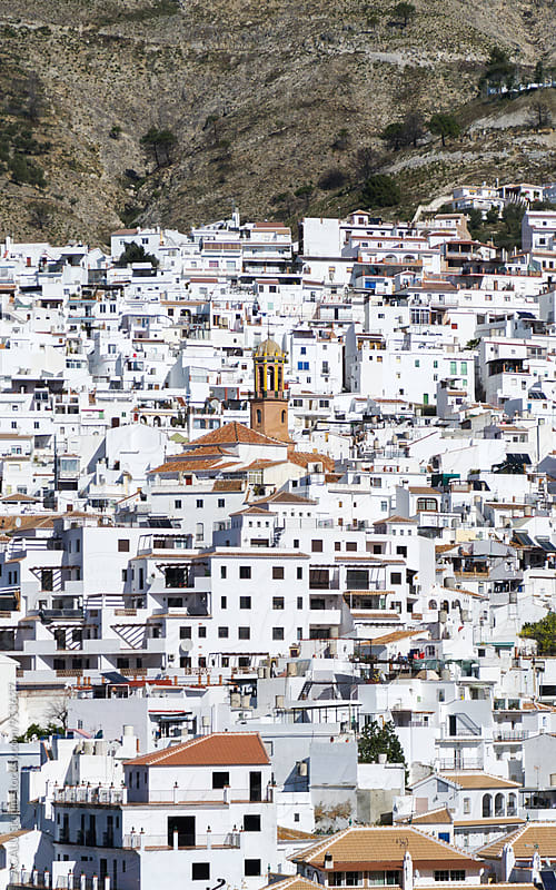 Typical white Andalusian village by ACALU Studio for Stocksy United