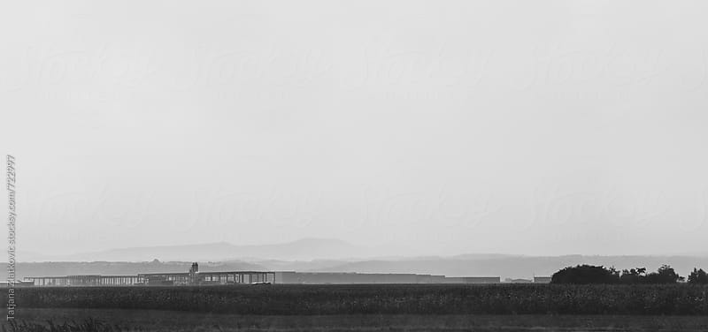 Landscape near highway by Tatjana Zlatkovic for Stocksy United