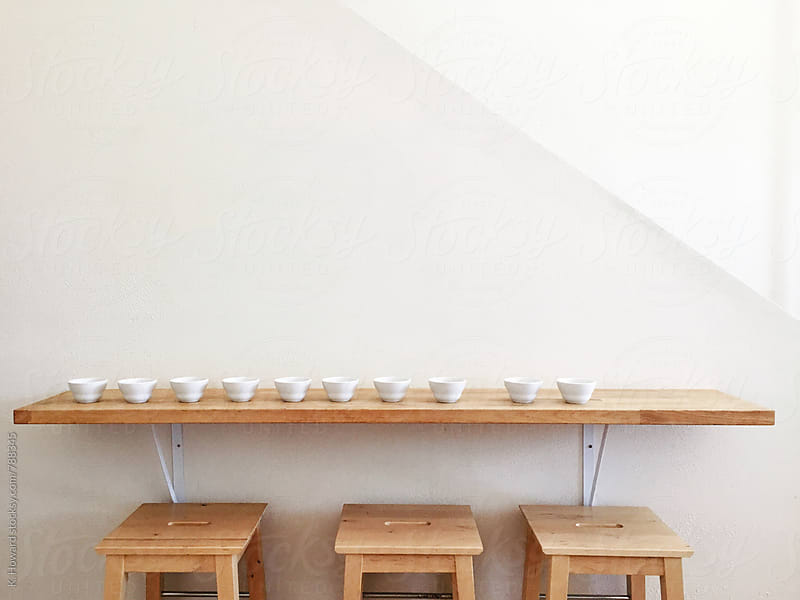 Coffee Cupping. by K. Howard for Stocksy United