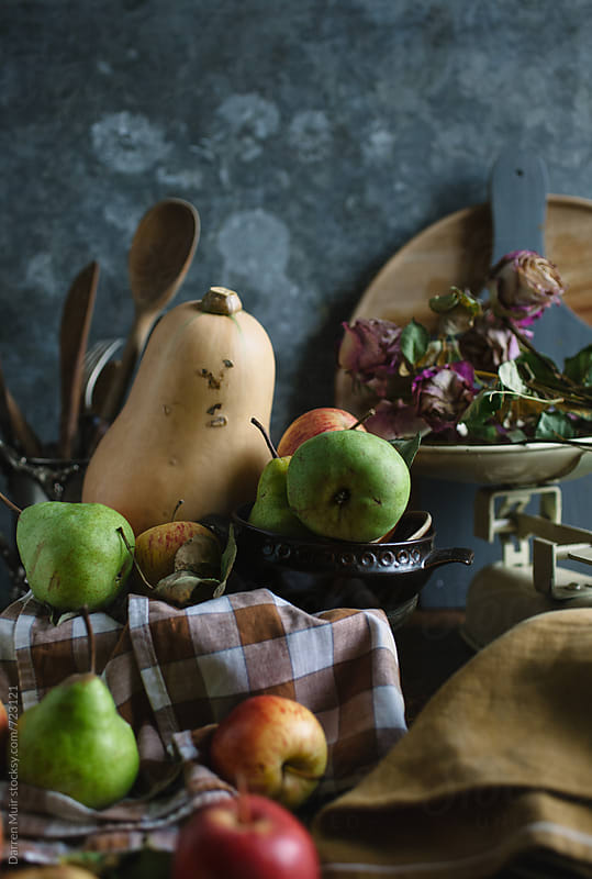 Fruit still life.  by Darren Muir for Stocksy United