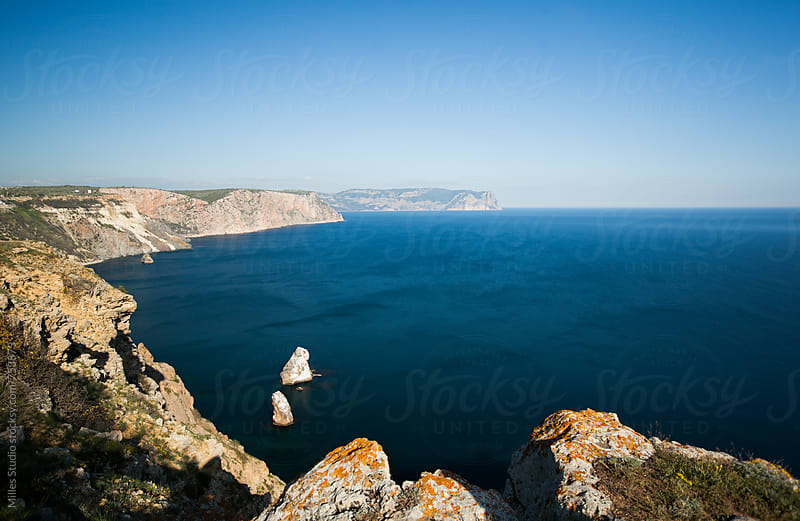 View of Black Sea Coast by Milles Studio for Stocksy United