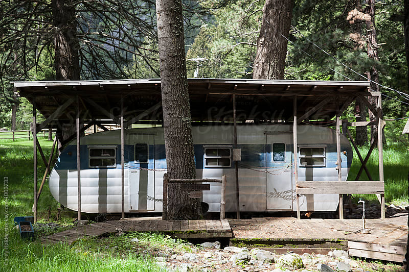 A Mobile Cabin by Carey Haider for Stocksy United