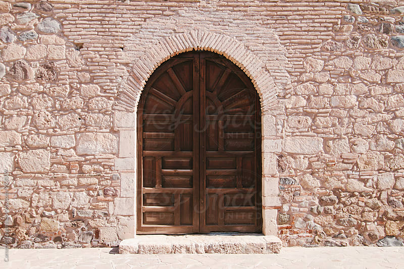 door in Baja, Mexico by Cameron Zegers for Stocksy United